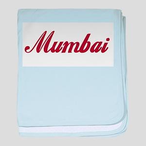 Mumbai name baby blanket