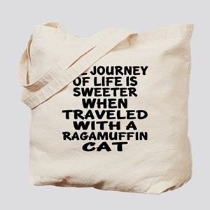 Traveled With ragamuffin Cat Tote Bag