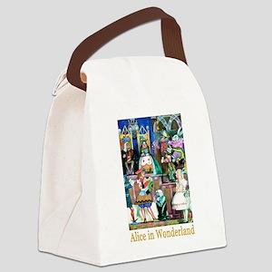 Alice in Wonderland-6 Canvas Lunch Bag