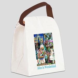 Alice in Wonderland-5 Canvas Lunch Bag