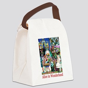 Alice in Wonderland-3 Canvas Lunch Bag