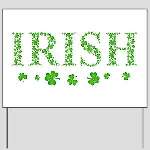 ! Irish Yard Sign
