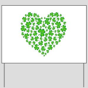 ! My Irish Heart copy Yard Sign