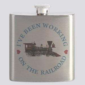 I've Been Working On The Railroad Flask