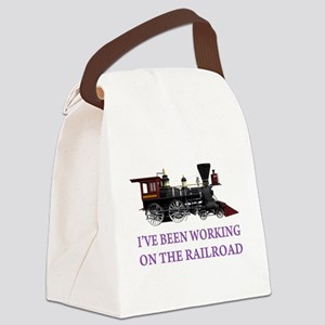 IVE BEEN WORKING ON THE RAILROAD PURPLE 2 Canv