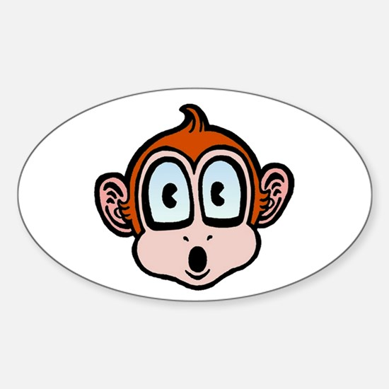 Lil'Monkey Oval Decal