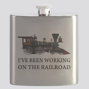 IVE BEEN WORKING ON THE RAILROAD 2 Flask