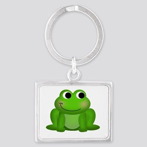 Cute Froggy Landscape Keychain
