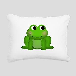Cute Froggy Rectangular Canvas Pillow