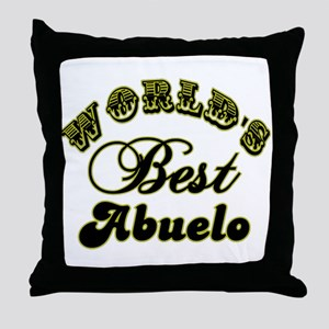 Best Abuelo Throw Pillow