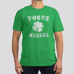 Pogue Mahone -vint Men's Fitted T-Shirt (dark)