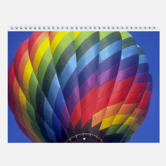Hot Air Balloons Wall Calendar