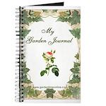 Pink Rose Garden Journal