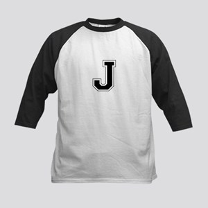 Collegiate Monogram J Baseball Jersey