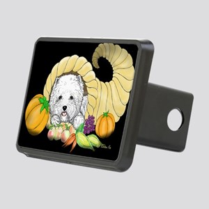 Thanksgiving Westie Rectangular Hitch Cover