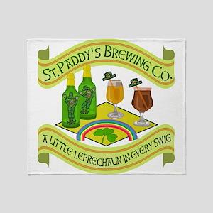 Funny Saint Patricks Day Leprechaun Brewery Stadi
