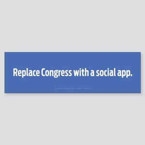 Congress App Bumper Sticker