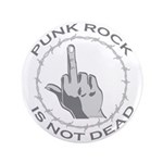 "Punk Rock Is Not Dead 3.5"" Button (100 pack)"