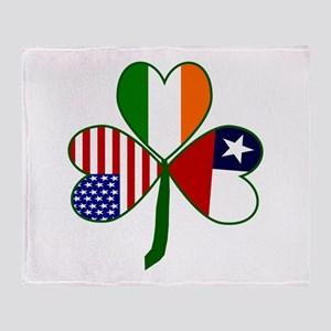Shamrock of Chile Throw Blanket