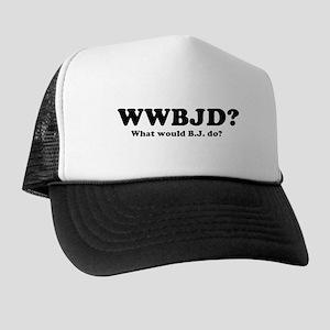 WWBJD? Trucker Hat