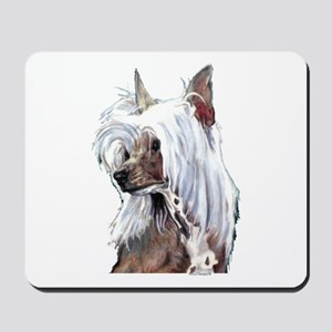Chinese Crested Portrait Mousepad