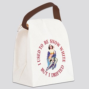I Used To Be Snow White Canvas Lunch Bag