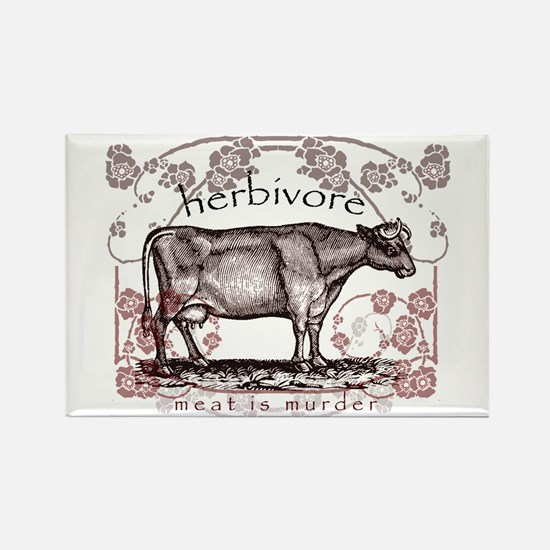 Herbivore Rectangle Magnet