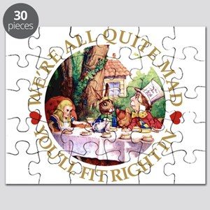 We're All Quite Mad, You'll Fit Right In Puzzle