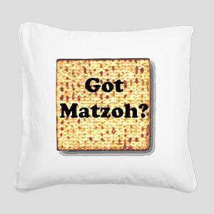gotmatzoh Square Canvas Pillow