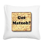 gotmatzoh Square Canvas Pillow
