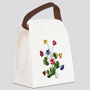 WOODSORREL_Embroidery Canvas Lunch Bag