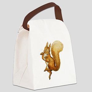 Squirrel Nutkin Canvas Lunch Bag