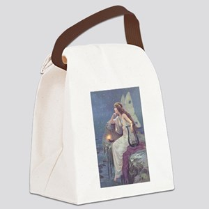 NEW FAIRY 12x17xFINAL Canvas Lunch Bag