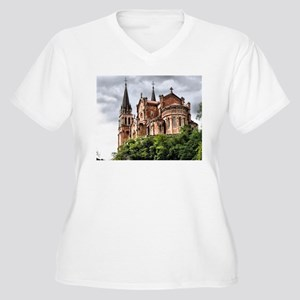 Our Lady of Covadonga Plus Size T-Shirt