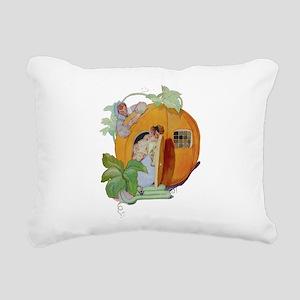 PETER PETER PUMPKIN EATE Rectangular Canvas Pillow
