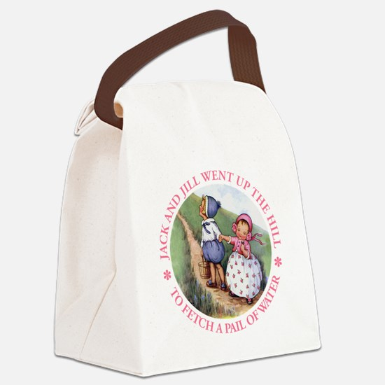 Jack And Jill copy.png Canvas Lunch Bag