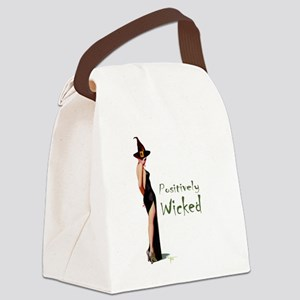 Witches_ Positively wicked Canvas Lunch Bag
