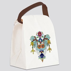 Indian Elephant 021 copy Canvas Lunch Bag