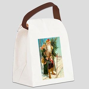 ! Santa 2 Canvas Lunch Bag