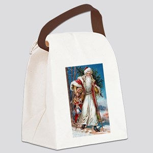! Santa 1 Canvas Lunch Bag
