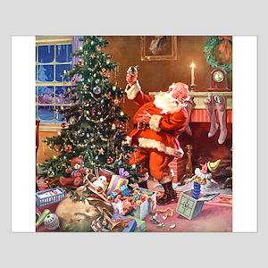 Santa Claus 1_SQ_ADJ Small Poster