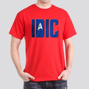 IDIC (w/TOS Insignia) Dark T-Shirt