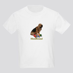 Bloodhound Christmas Kids T-Shirt