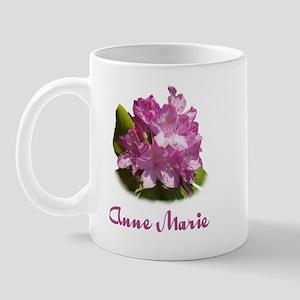 Anne Marie: Purple Flower Mug