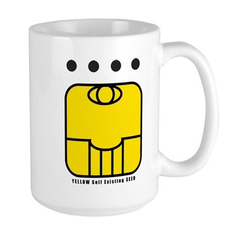 YELLOW Self-Existing SEED Large Mug