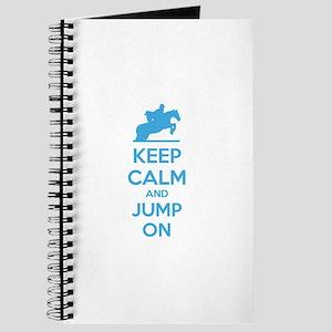 Keep calm and jump on Journal