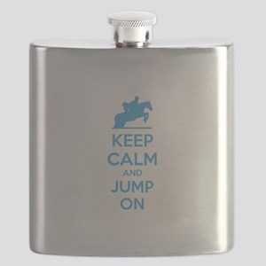 Keep calm and jump on Flask
