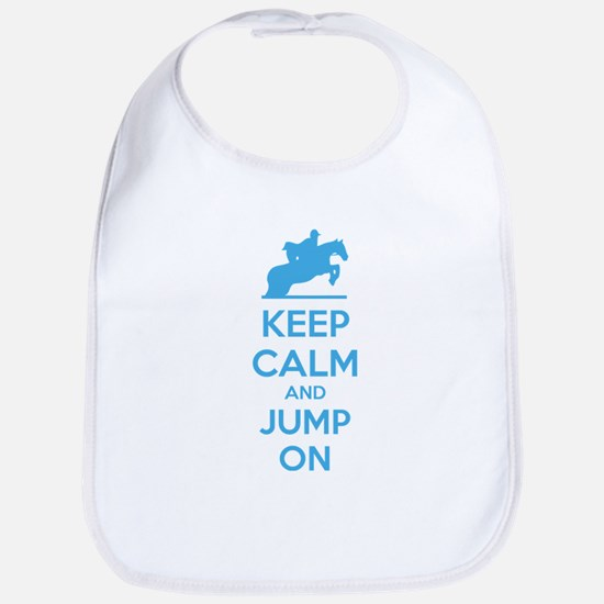 Keep calm and jump on Bib