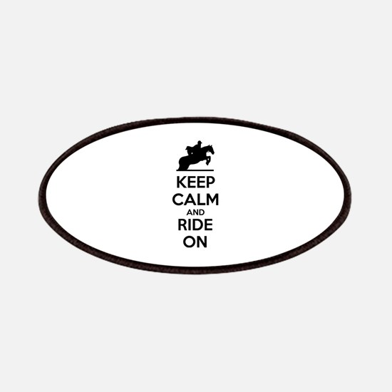 Keep calm and ride on Patches