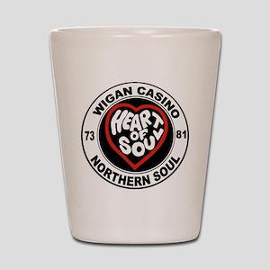 Retro wigan Casino mod northern soul Shot Glass